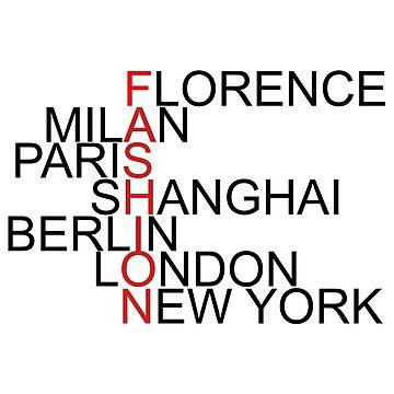 Fashion Capitals by fantim2040
