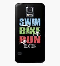 Swim, Bike, Run - Triathlon Case/Skin for Samsung Galaxy