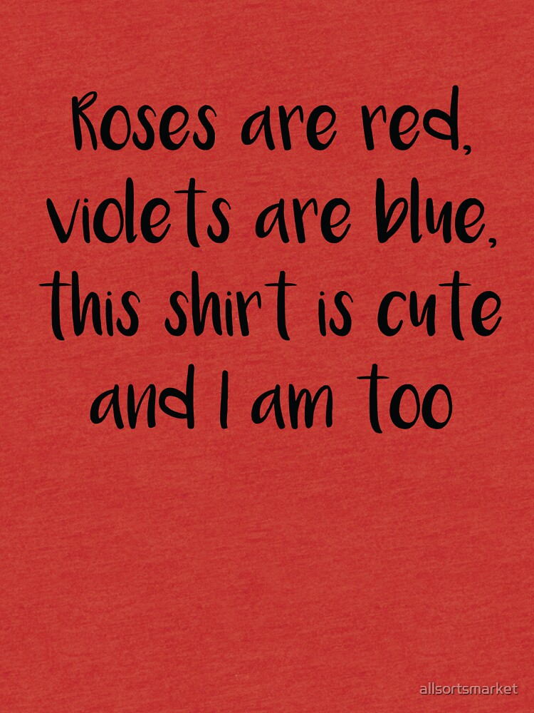 cute roses are red