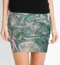 Jupiter Abstract Painting Mini Skirt