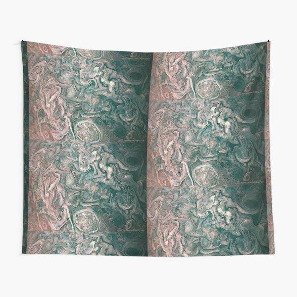 Jupiter Abstract Painting Tapestry