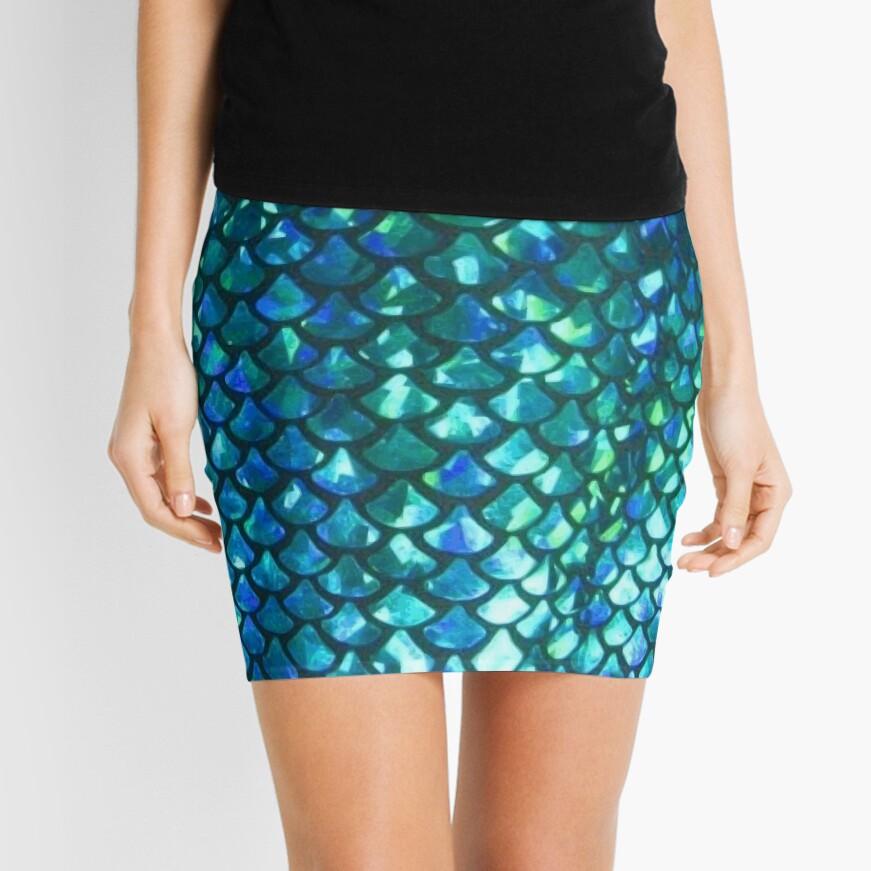 Mermaid Scales v1.0 Mini Skirt