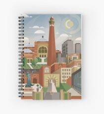 University Of Birmingham Spiral Notebook