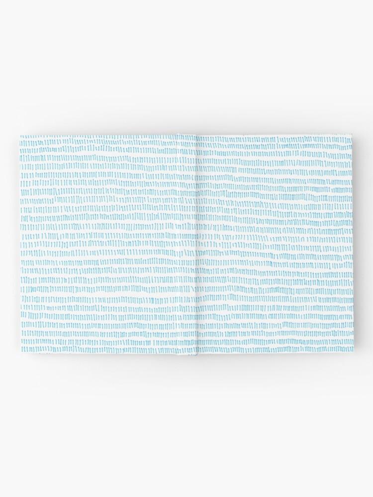Alternate view of Blue grass - a handmade pattern Hardcover Journal