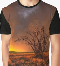 Fascinations - Warm Light and Rumbles of Thunder in Oklahoma Graphic T-Shirt