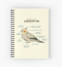 Anatomy of a Cockatiel Spiral Notebook