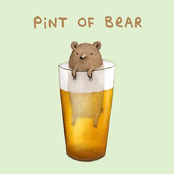 Pint of Bear by SophieCorrigan
