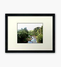The Beatrice River Framed Print