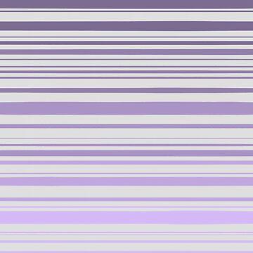 Purple ombré stripes by tmntphan