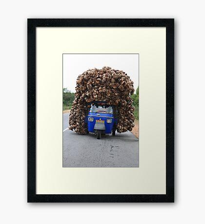 Loaded Framed Print