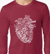 Handwritten Heart Long Sleeve T-Shirt