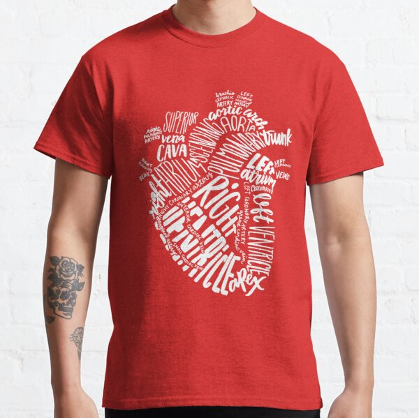 Handwritten Heart Classic T-Shirt