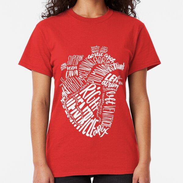 Handwritten Heart Classic T-Shirt