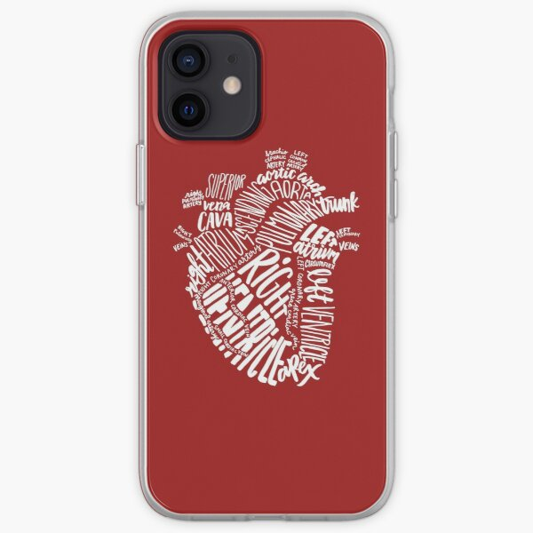 Handwritten Heart iPhone Soft Case