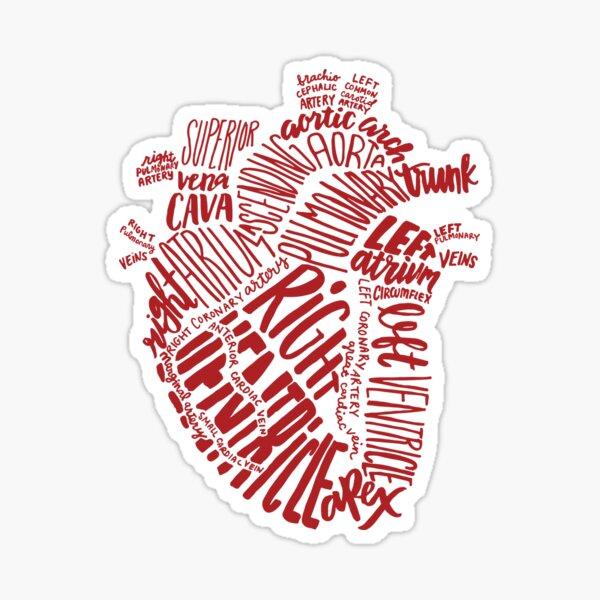 Handwritten Heart Sticker