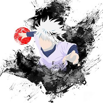 Hunter X Hunter Killua Godspeed Red Sun by mgill42