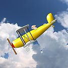 If Pigs Could Fly a Yellow Biplane by Dennis Melling