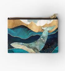 Blue Whale Zipper Pouch