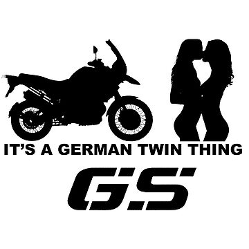 R1200GS - It's a German twin thing by AKindChap