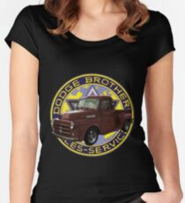 1951 Dodge Truck II Women's Fitted Scoop T-Shirt