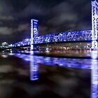 Reflection of Blue Bridge by StampCity