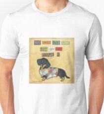 Camiseta unisex Rescátalo Doxie