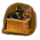 Bored Tutankhamun by Leenasart
