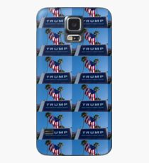 Donald Trump Campaign Sign with Huge USA Flag Case/Skin for Samsung Galaxy