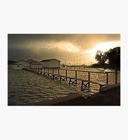 Mosman Bay Boatsheds At Dawn  Photographic Print