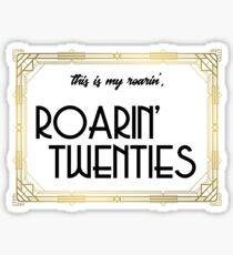 Roaring Twenties Sticker