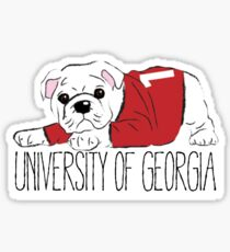UGA Bulldog Sticker