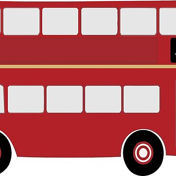 Double Decker bus on the double by grayandorange