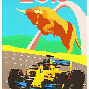 Austrian GP Poster by ICRDesigns