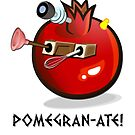 DALEK POMEGRAN-ATE! by ToneCartoons
