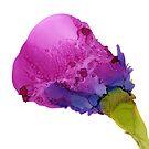 Juicy Plum Rose by Helen Dannelly