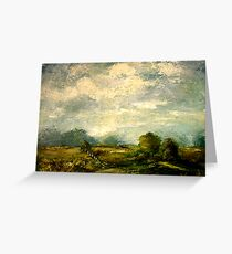 Hudson River Valley Pasture Greeting Card