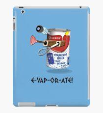 E-VAP-OR-ATE ! iPad Case/Skin
