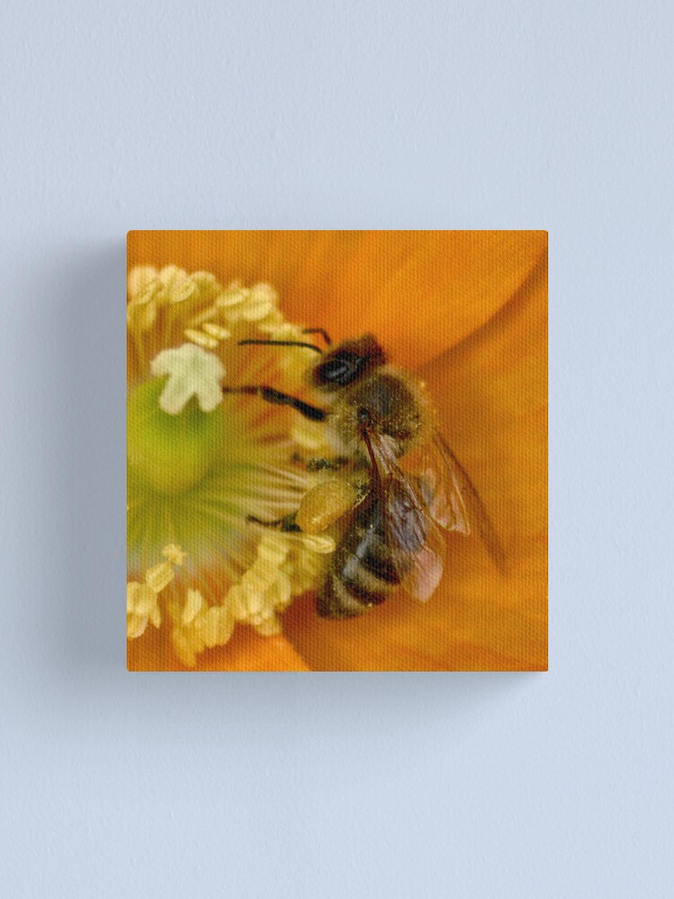 Alternate view of Feed the Hunger Canvas Print