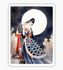 Good Night, My Knight Sticker
