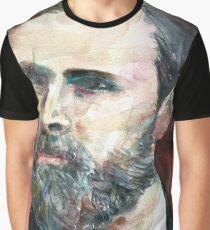 BRAM STOKER - watercolor portrait.2 Graphic T-Shirt