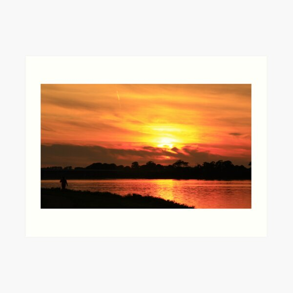 @ Sunset  Art Print