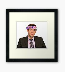 Befuddled Jim Framed Print