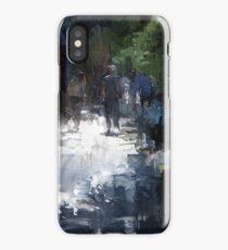 the light lies down iPhone Case