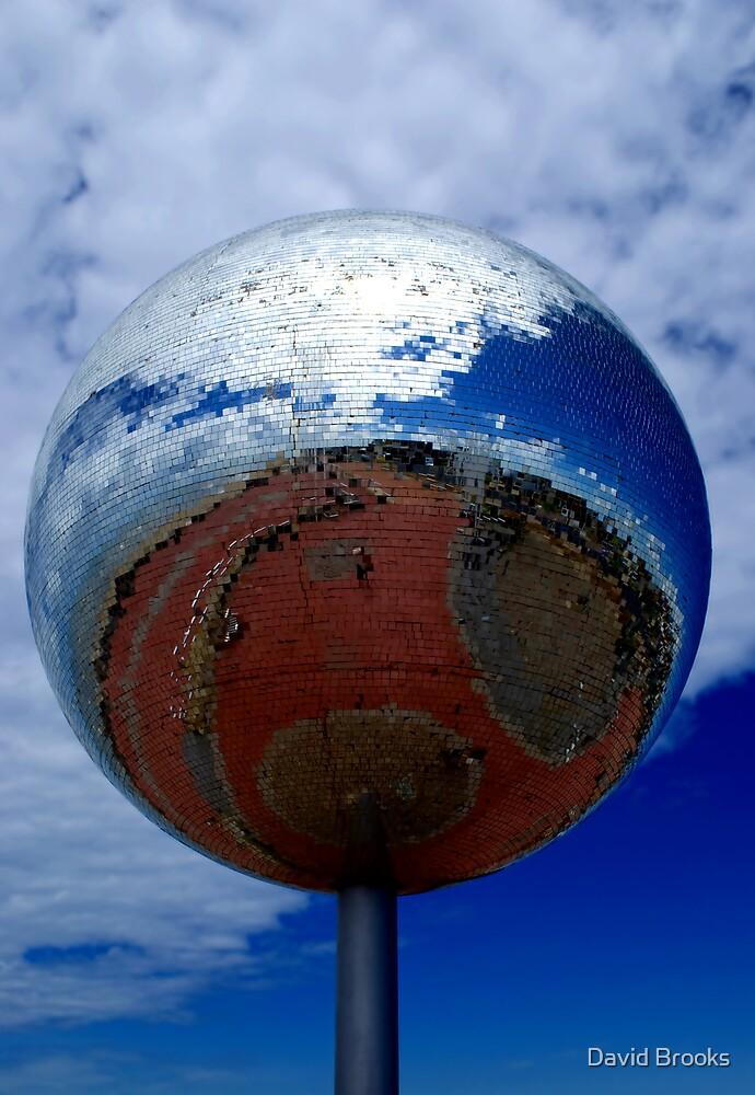 Giant Disco Ball by David Brooks