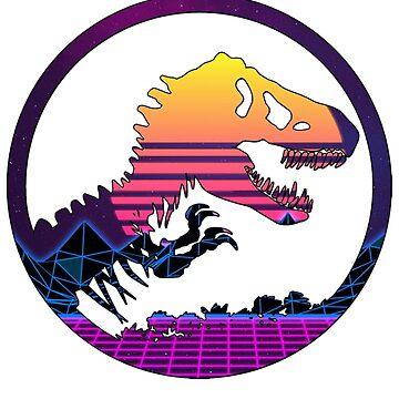 Jurassic 80's by adamtwd88