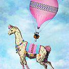 Flying Llama by Tammy Wetzel