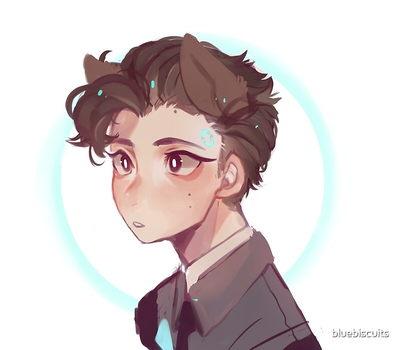 Quot Connor Dbh Quot By Bluebiscuits Redbubble