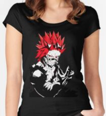 red riot Fitted Scoop T-Shirt