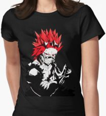 red riot Women's Fitted T-Shirt