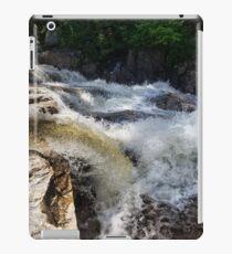 River rapids rushing over rocks iPad Case/Skin